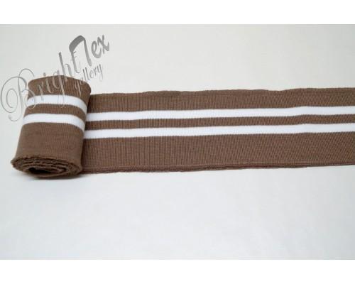 Подвяз коричневый с белыми полосами