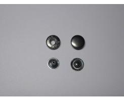Кнопки «Альфа» Чёрный никель
