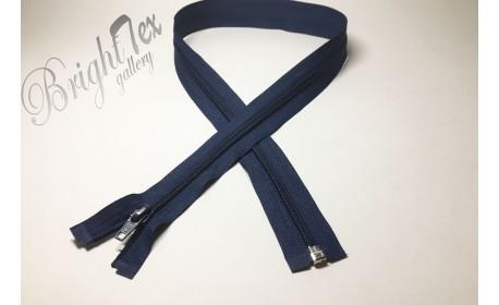 Молния спираль р/м «Синий» 80 см