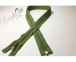 Молния спираль «Темно-оливковый» 18 см