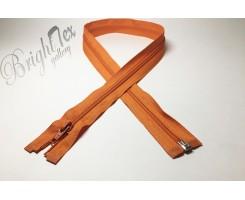 Молния спираль р/м «Оранжевый» 80 см