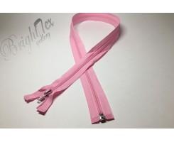 Молния спираль р/м «Розовый» 80 см