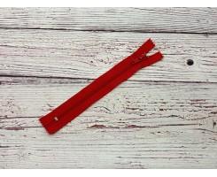 Молния спираль н/р Красный 18 см Тип 5