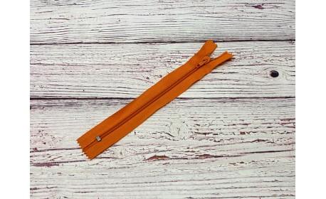 Молния спираль н/р Оранжевый 18 см Тип 5