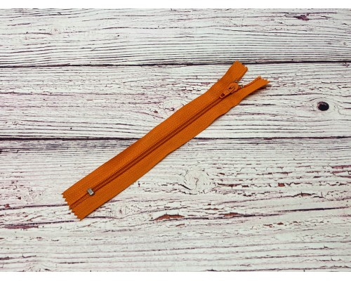 Молния спираль «Оранжевый» 18 см