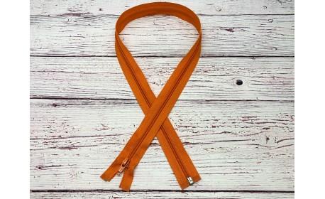 Молния спираль р/м Оранжевый 80 см Тип 5