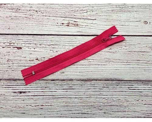 Молния спираль н/р Розовый 13 18 см Тип 5