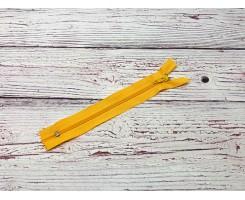 Молния спираль н/р Желтый 18 см Тип 5