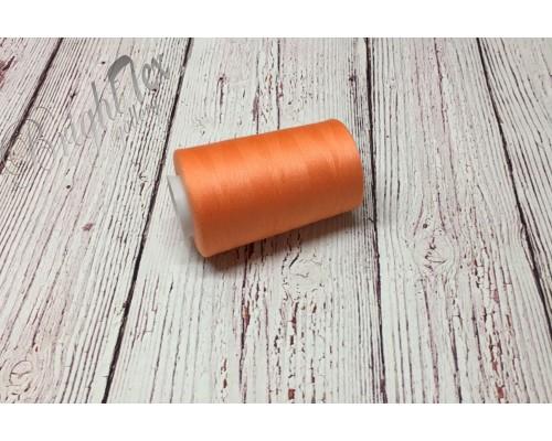Нитки цвет оранжевый