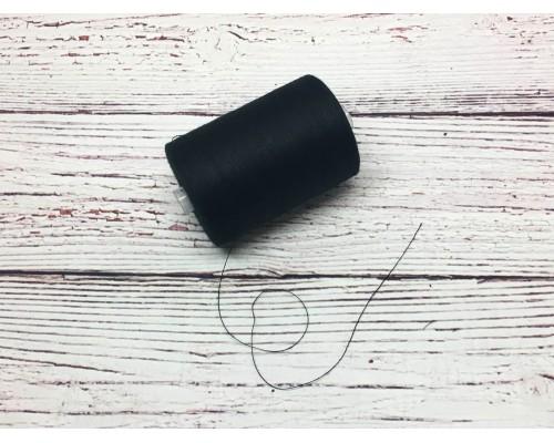 Нитки армированные цвет «Черный»