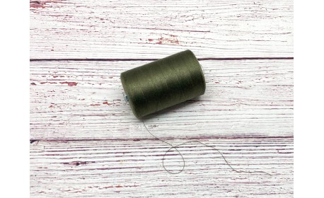 Нитки армированные цвет «Олива»