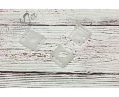 Фастекс «Прозрачный» 25 мм