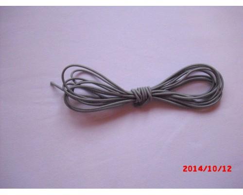 Резиночка шляпная Серый светлый 3мм