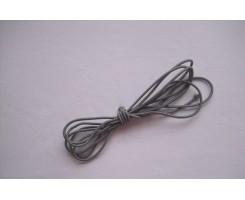 Резиночка шляпная Серый 3мм