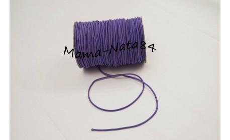 Резиночка шляпная Фиолетовый 3мм