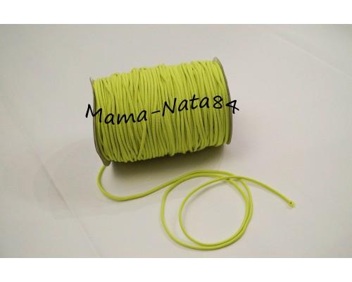 Резиночка шляпная светло-Салатовый 3мм
