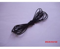 Резиночка шляпная Чёрный 2.5мм