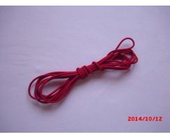 Резиночка шляпная Красный 3мм
