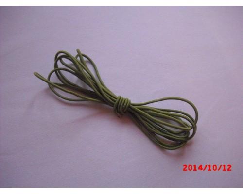 Резиночка шляпная Зелёный 3мм
