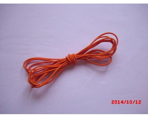 Резиночка шляпная Оранжевый 2мм