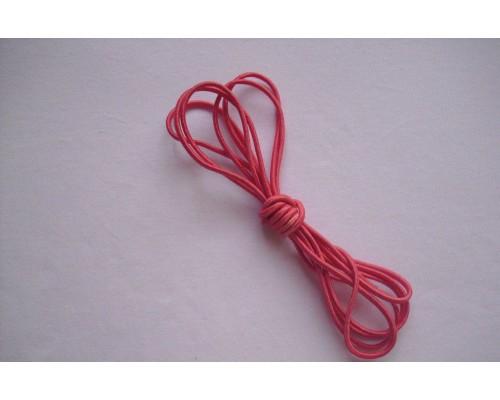 Резиночка шляпная Розовый 3мм
