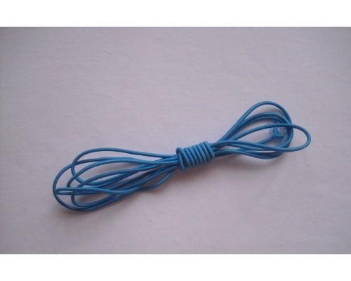 Резиночка шляпная Голубой 2.5мм