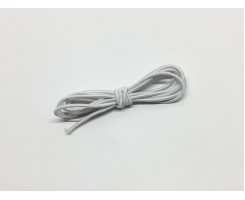 Резинка шляпная цвет Белый 3мм