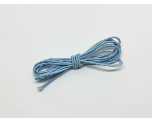 Резинка шляпная цвет Голубой 2,5 мм