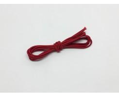 Резинка шляпная цвет Красный 2,5 мм
