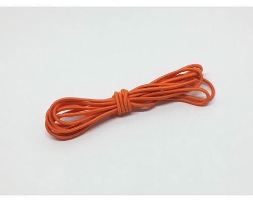 Резинка шляпная цвет Оранжевый 2,5 мм