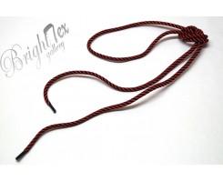 Шнурки  черно - красные