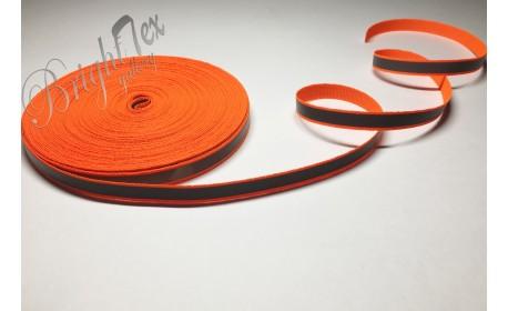 Лента светоотражающая 10мм «Оранжевый»