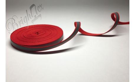 Лента светоотражающая 10мм «Красный»