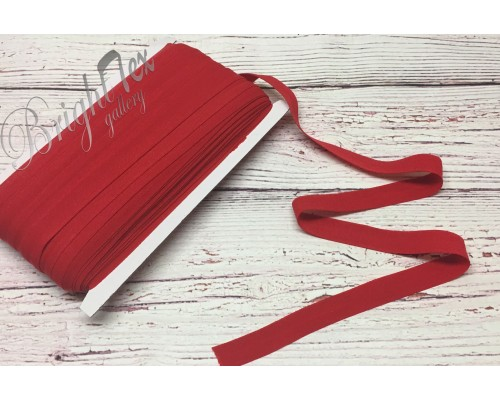 Резинка окантовочная цвет Красный