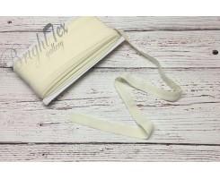 Резинка окантовочная цвет Молочный