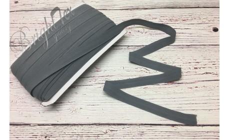 Резинка окантовочная 15 мм цвет Серый