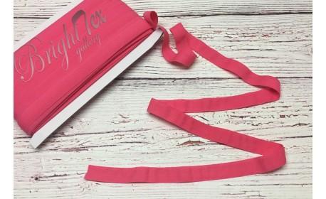 Резинка окантовочная  цвет Ярко-розовый