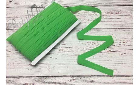 Резинка окантовочная 15 мм цвет Зеленый
