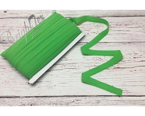 Резинка окантовочная  цвет Зеленый