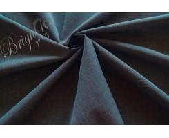Мембранная ткань с фактурой «лён» цвет Тёмно-серый