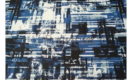 Мембранная ткань «Надписи»