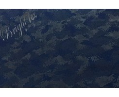 Курточная ткань «Светоотражающий камуфляж » на синем