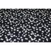 Курточная ткань «Светоотражающие звёзды» на синем