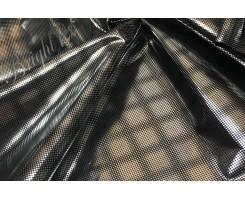 Ткань подкладочная (фольгированная) узор «Ромбы»