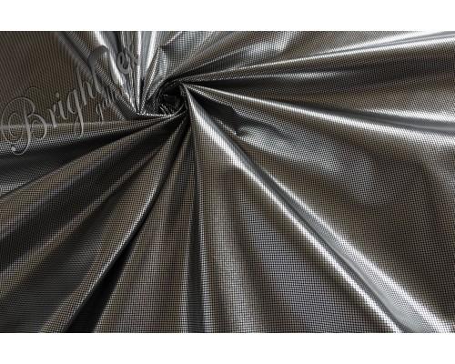 Ткань подкладочная (фольгированная) цвет черный