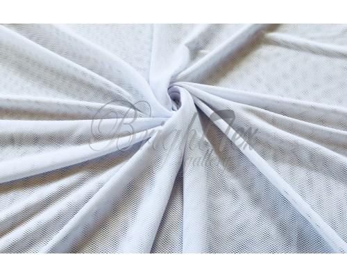 Сетка трикотажная «Белый»