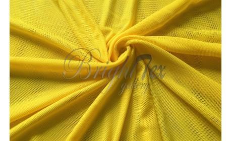 Сетка трикотажная «Желтый»