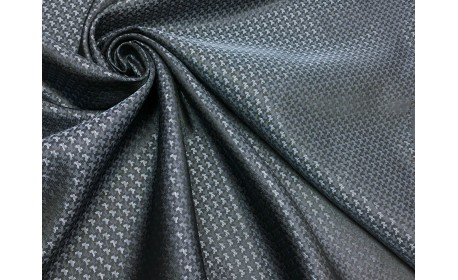 Подкладочная ткань поливискоза жаккард цвет Синий.